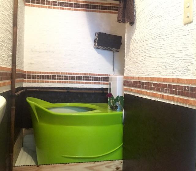 マコモ風呂
